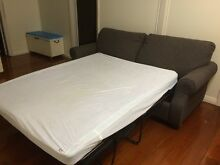 Sofa with a fold out bed. (2 years old / Scotch guarded) Garbutt Townsville City Preview