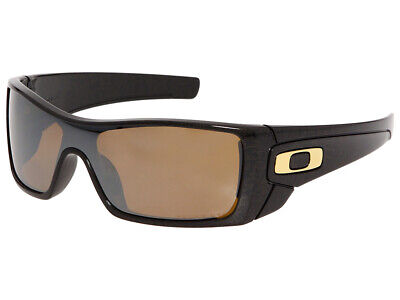 Oakley Batwolf Polarized Sunglasses OO9101-03 Black/Ghost Text/Tungsten Iridium