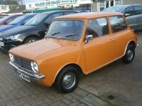 AUSTIN MINI CLUBMAN AUTOMATIC 22000 MILES ONLY (beige) 1974