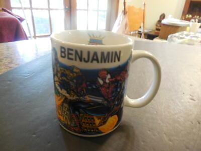 Island Personalized Mint - Marvel Super Hero Island Mug, Personalized Benjamin,2000 By Lin Yi Mint ID:30643