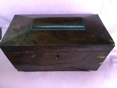 Old Wood Caddy Box