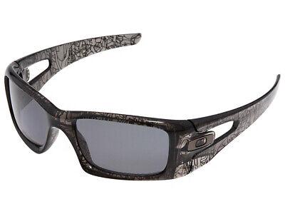 Oakley Crankcase Polarized Sunglasses OO9165-06 Grey Smoke/History (Sunglass History)