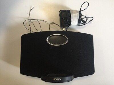 Jensen Docking Digital Music System for iPod/iPhone -Speaker Radio & Alarm Clock Jensen Ipod Clock Radio