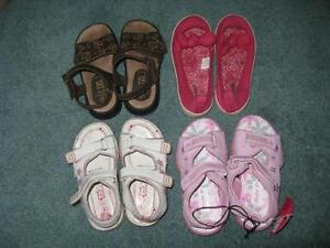 Little Girls Summer Shoes - Sizes 9-10 Sarnia Sarnia Area image 2