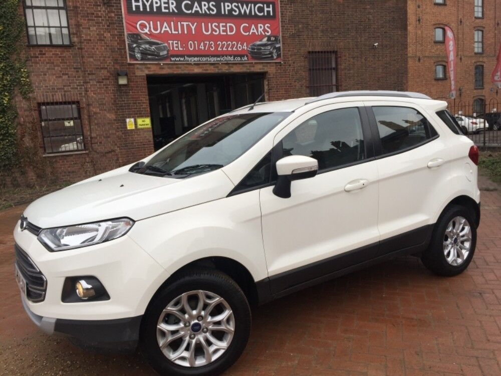 Ford EcoSport Titanium | Finance Available | Think Ford |Ford Ecosport Titanium White