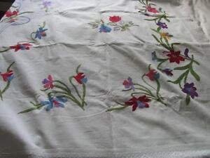 Exquisite embroidered blanket cover now reduced Oakville / Halton Region Toronto (GTA) image 1