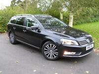VOLKSWAGEN PASSAT SPORT TDI BLUEMOTION TECHNOLOGY (black) 2011