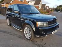 60 reg Land Rover Range Rover Sport 3.0 TDV6 HSE Facelift. Black Leather, P/X & Finance Welcome