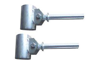 Ruderdollen (Paar) mit Zapfen 15 mm für Ruderboot Anka Ruderdolle Aufnahme 45 mm