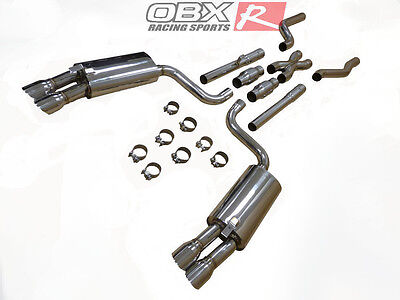 OBX Catback Exhaust System  X Pipe w Cats 86 91 Chevrolet Corvette C4 57L ALL