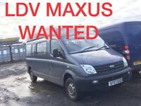 Ldv maxus wanted