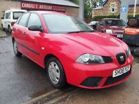 SEAT IBIZA ECOMOTIVE TDI (red) 2008