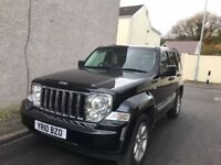 Jeep Cherokee, Diesel, Automatic, Mint Condition, Two Owners, 53,000 Miles, MOT until August 2018