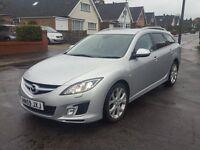 59 reg Mazda 6 Sport Estate 2.2D Diesel 185BHP P/X, Finance £138 Per Month