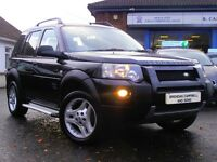 2006 Land Rover Freelander Freestyle TD 5 Door Jeep In Black