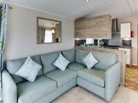 static luxury caravan, inc 2018 site fees, west coast of scotland