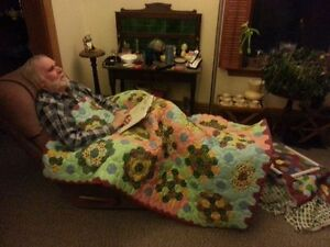 Handsewn Lap Quilts / Baby Quilts  by Steve Meek of Peterborough
