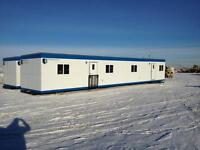 12'x60' DRY SKID OFFICE TRAILER