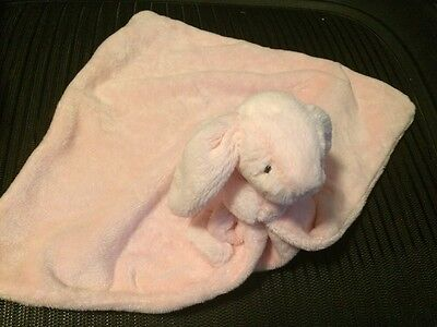 Jellycat Sleepy Bunny Blanket Pink Girl Toy A+ For Easter New