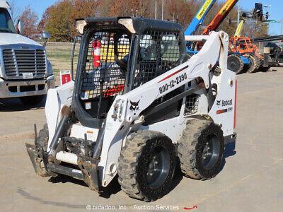 2016 Bobcat S530 Skid Steer Wheel Loader Aux Hydraulics Diesel Tractor Bidadoo
