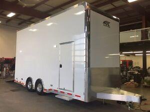 2017 ATC QUEST 305 stacker Enclosed Car Hauler Trailer
