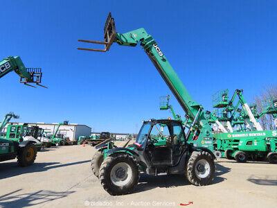 2012 Jcb 509.42 42 9000 Lbs Telescopic Reach Forklift Cab 4wd Aux Hyd Bidadoo