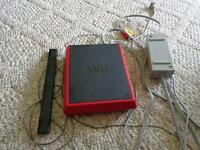 Wii Mini Console and 9 Wii Games