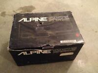 CD Changer Alpine 5957S Old School Très Bonne Condition