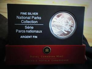 National Parks Canada Fine Silver Coin