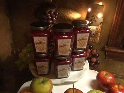 HOME INTERIORS SET OF *** 6 ***   BAKED APPLE CANDLES