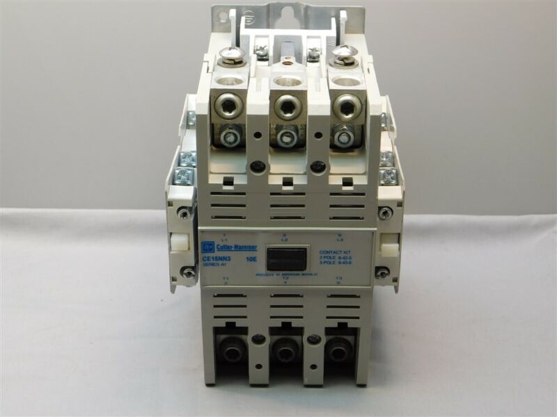 Cutler Hammer CE15NN3 10E Freedom 3Pole 140A Motor Contactor w/4 Aux. Contacts