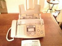 Fax with answering system-Panasonic