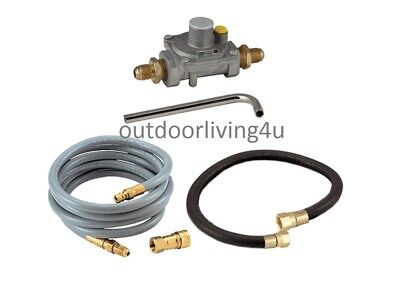 Natural Gas Conversion Kit for Stove and Griddle components (Natural Gas Conversion)
