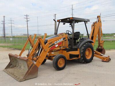 2010 Case 580n Backhoe Wheel Loader Tractor Diesel 82 Bucket Bidadoo