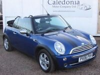 MINI CONVERTIBLE 1.6 Convertible with Half Leather (blue) 2006