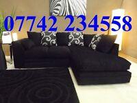 BRAND NEW ZINA luxury corner sofa left or right chaise