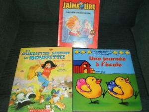 French books -J'aime Lire ,   Une Journee a L'ecole London Ontario image 1