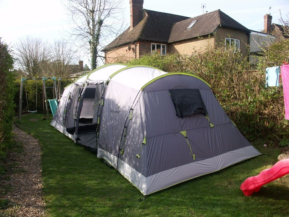 Tent In A Can : Nearly new person vis a tunnel tent easy camp