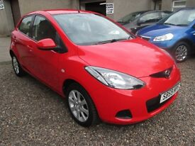 MAZDA 2 TS2 ONLY 52209 MILES -- BUY NOW PAY IN 6 MONTHS -- PAYG FINANCE AVAILABLE -- (red) 2009