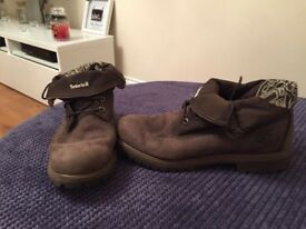 Brown Mens Timberland boots, size 11 1/2
