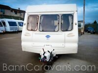 (Ref: 867) Bailey Ranger 500 5 Berth Touring Caravan Awning Included