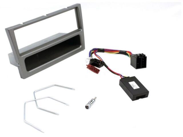 CTKVX18 Meriva 03-07 Single Din Car Stereo Fitting Kit stalk control GUNMETAL