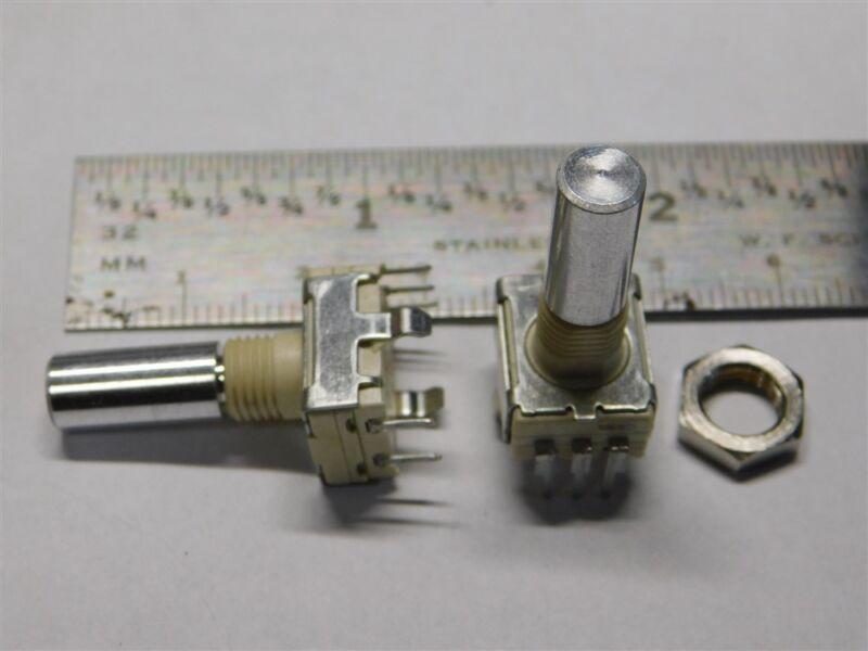 """5 Elma E27-0-2111QAL111 / ddm 427 30 Detent Encoders 14mm x 6.31mm (.25"""") Shaft"""