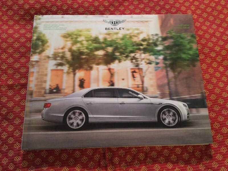 Bentley Motors THE NEW FLYING SPUR Hardcover Brochure Book