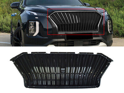 Front MMG Radiator Grille Black Color (Fits: HYUNDAI 2020+ Palisade)