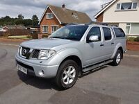 57 reg Nissan Navara Outlaw, NO DENTS OR SCRATCHES. P/X Welcome
