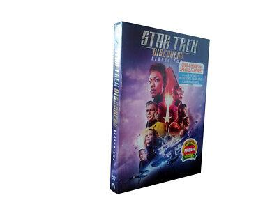 Star Trek Discovery Season 2  (DVD, 4-Disc Set) Free Shipping