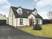 Beautiful detached house for sale in Coleraine.