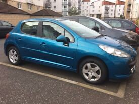 2007 Peugeot 207 1.4 petrol 39000 miles 1 owner from new