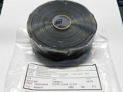 Saylor Aa59163-1i0030-1 1 X .03 Silicone Self Fusing Electrical Insulation Tape